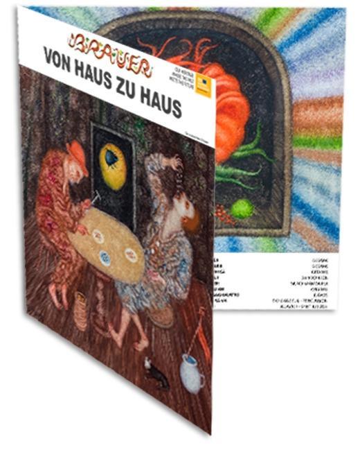 """Cover Arik Brauer - """"Von Haus zu Haus"""""""