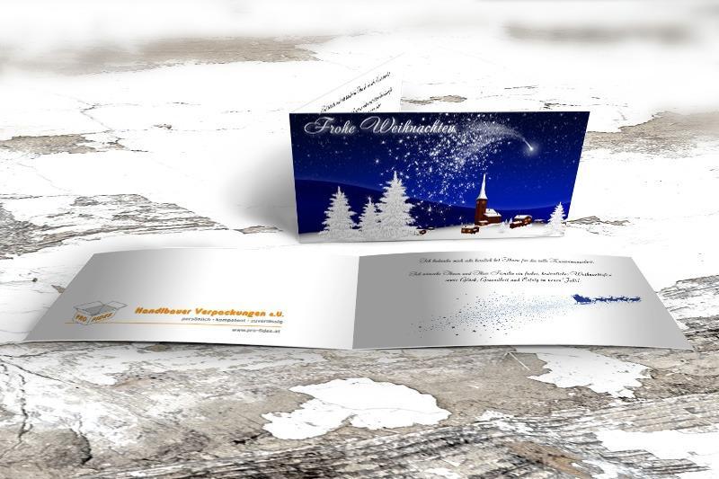 Weihnachtskarte Handlbauer